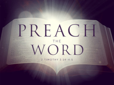 preach-the-word | Preaching the New Lectionary