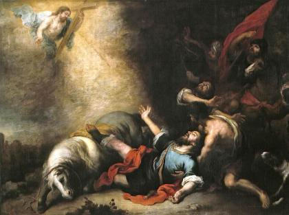 the-conversion-of-saint-paul-bartolome-esteban-murillo